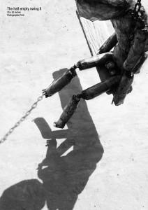The half-empty swing II, by Ahsan Masood