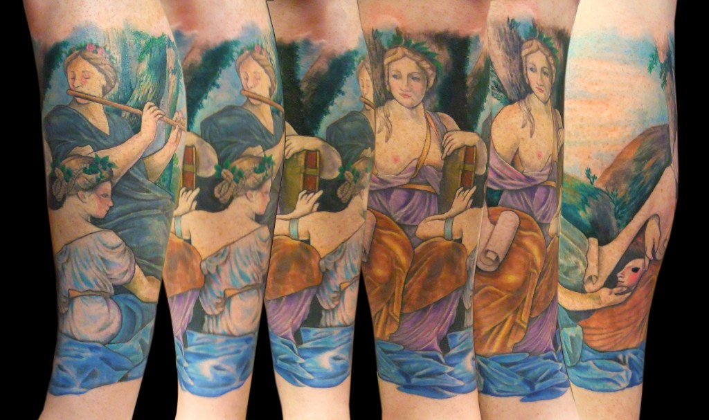 The Muses by Andrew Sussman