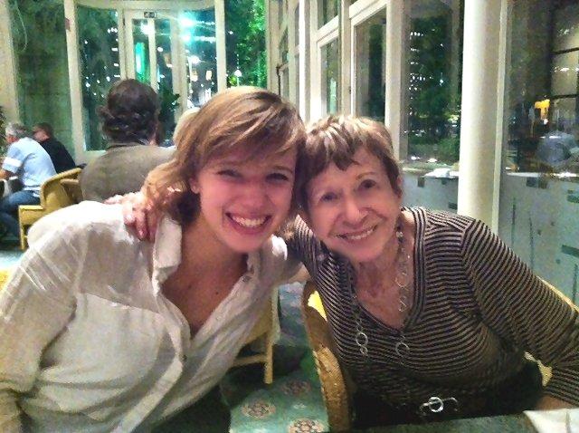 Audrey Ryback with Sonia Pressman Fuentes