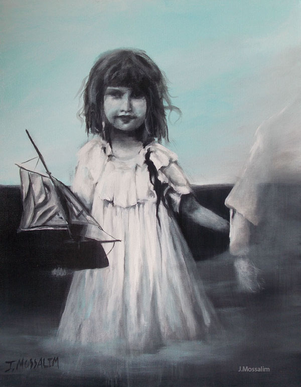 Charlotte and the Boat by Jihane Mossali