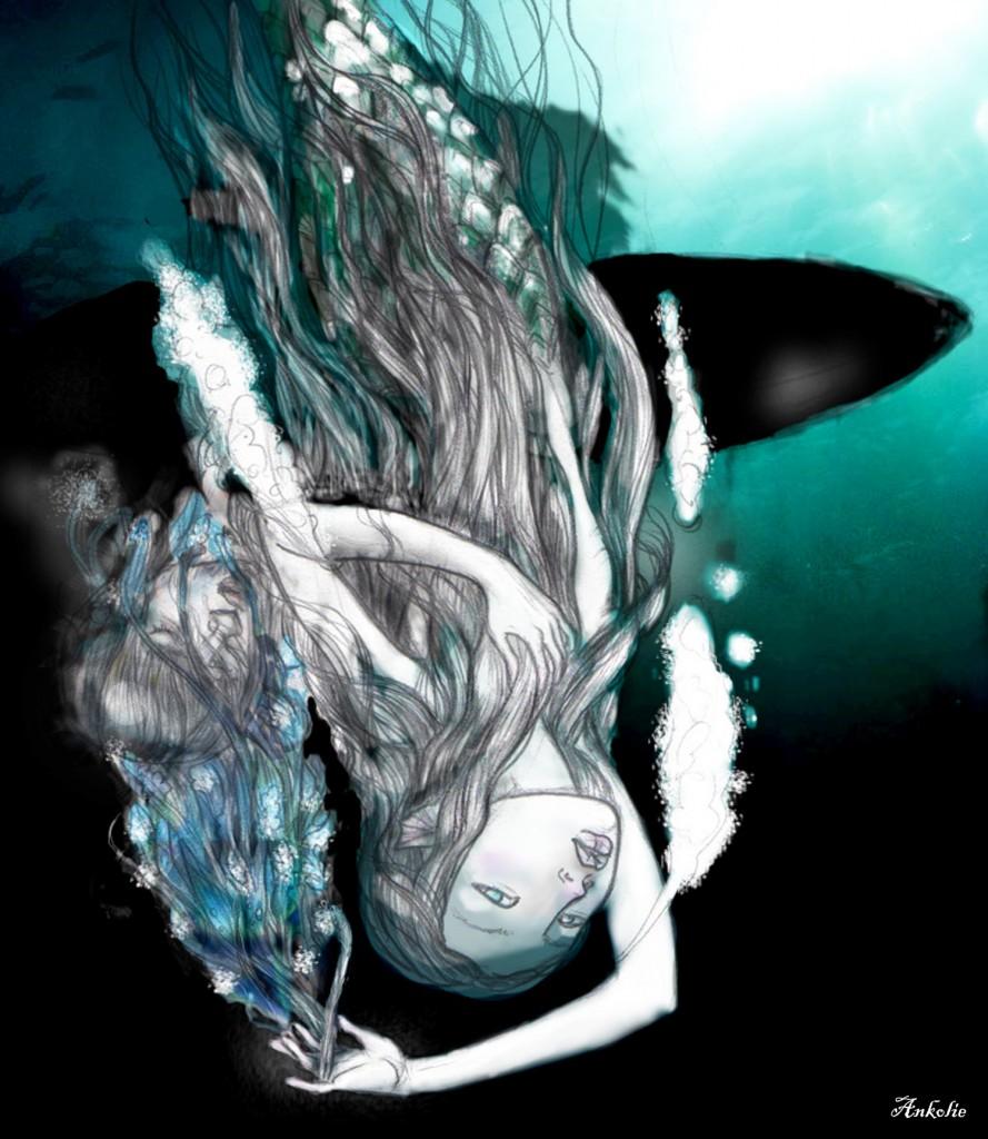 mermaid, by Ankolie