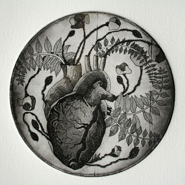 Heart of Poppies by Sonja Dimovska
