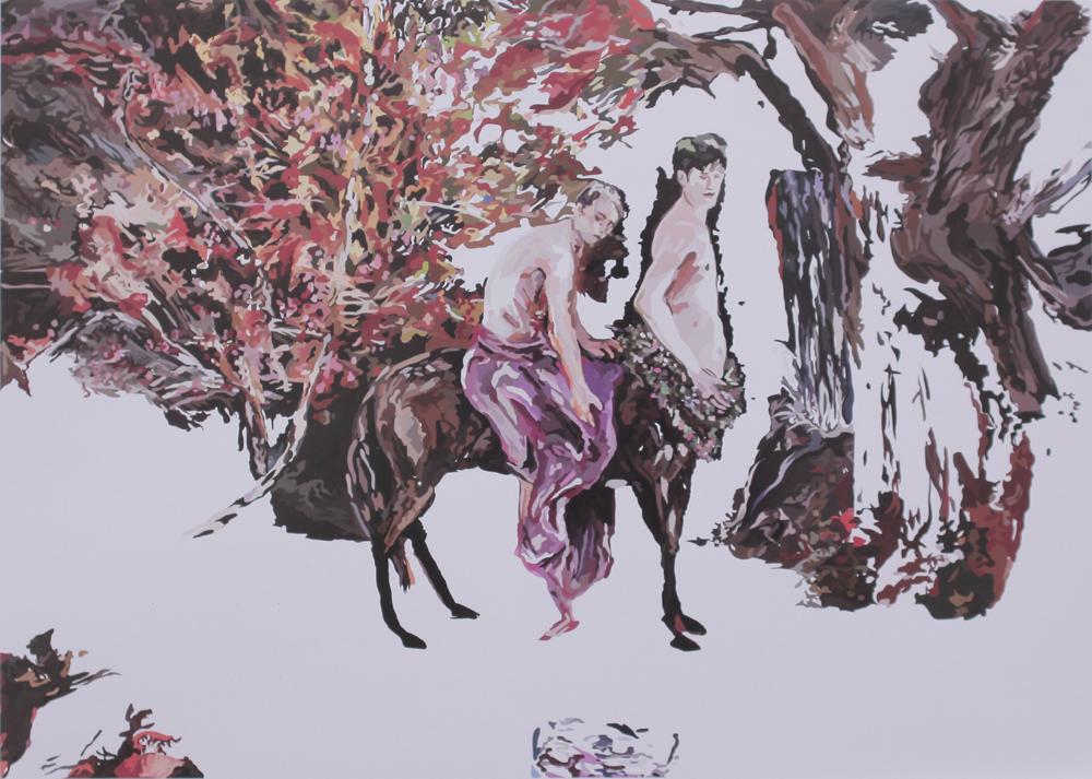 Artwork by Kim Yunsub - Image Courtesy ArtChowk