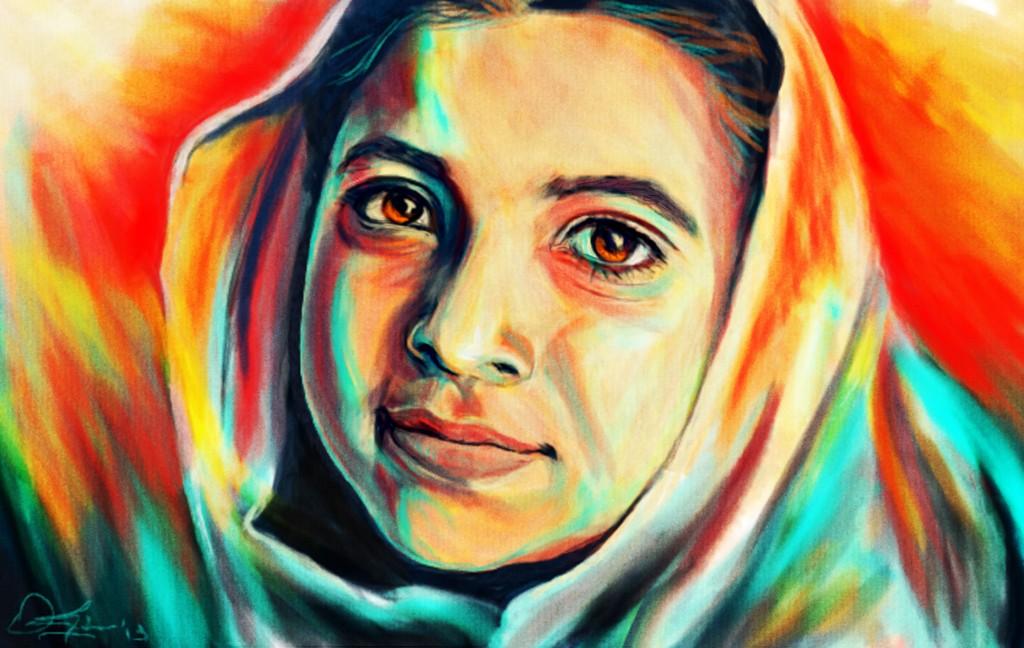 """Malala"" by Omar Gilani."