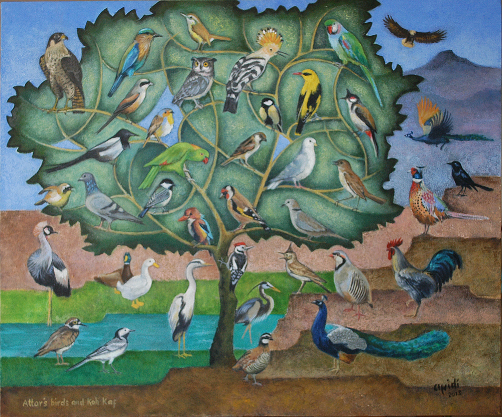 Artwork by Jamil Afridi