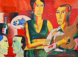 Music Chamber by Moeen Farooqi. Courtesy: ArtChowk Gallery