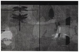 Page in my Diary II, by Nurayah Sheikh Nabi. Courtesy: ArtChowk Gallery