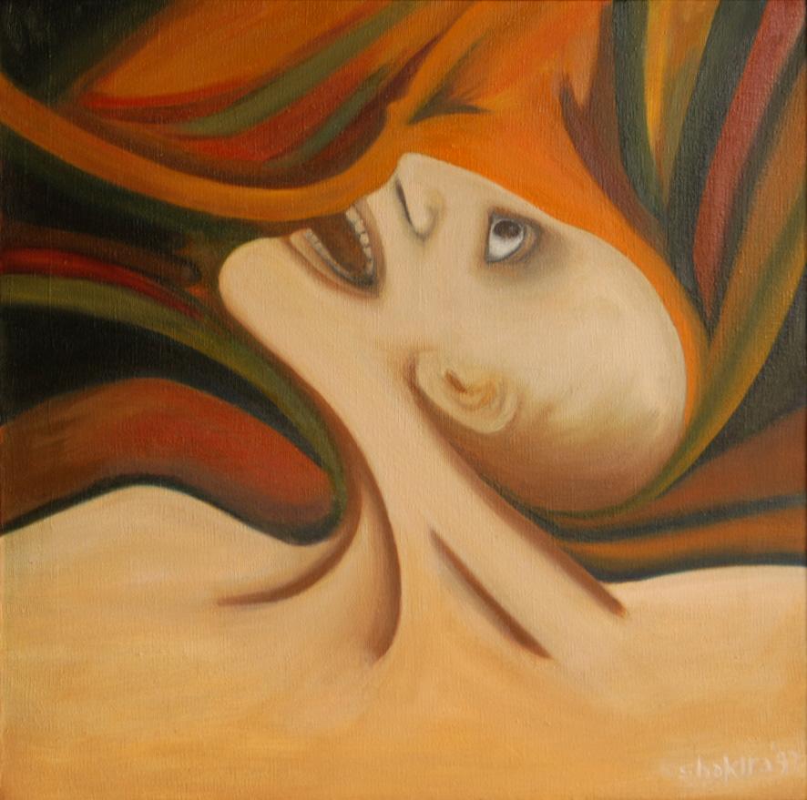 Pain, by Shakira Masood. Courtesy: ArtChowk