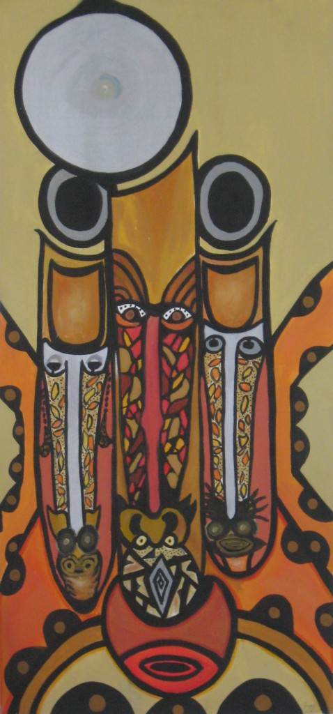 Ancestors (for Kamau), by Gary Butte