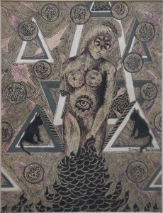 Axis by Omar Farid. Image Courtesy ArtChowk Gallery