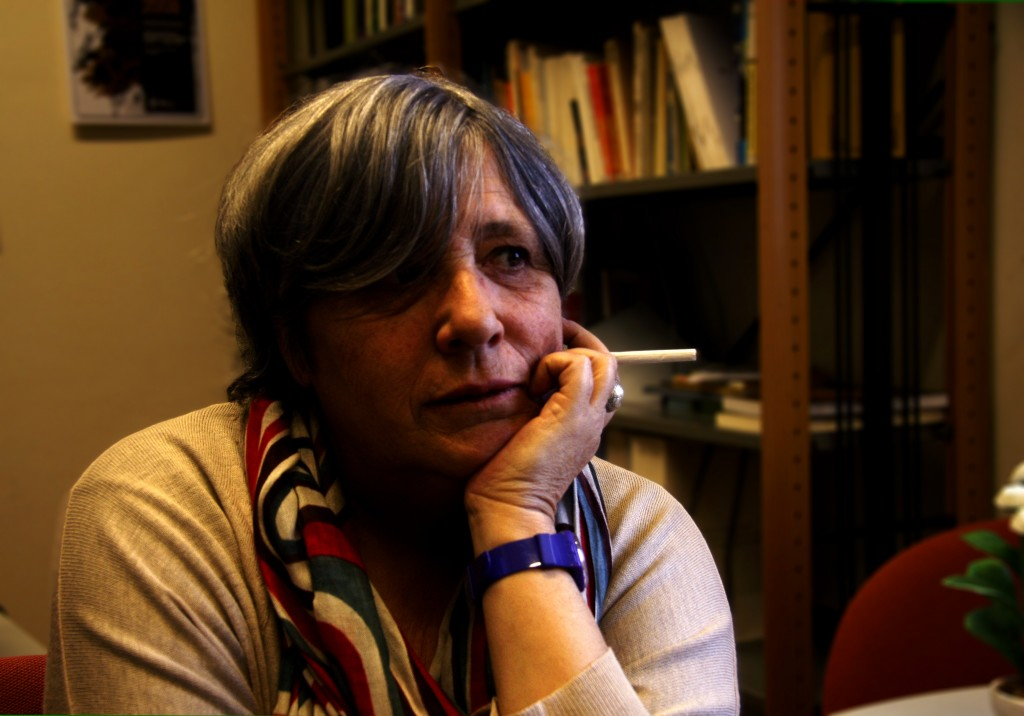 Ana Luísa Amaral Photo credit: Liliana Almeida
