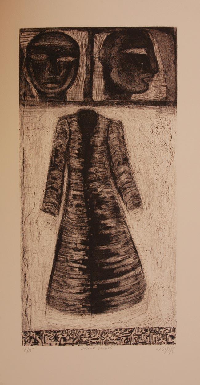 Poshak Series 4 by Mehr Afroz. Image Courtesy ArtChowk Gallery