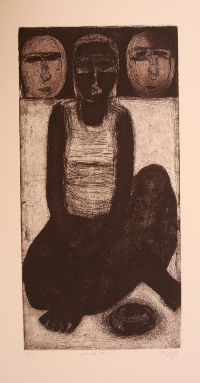 Poshak Series 2 by Mehr Afroz. Image Courtesy ArtChowk Gallery