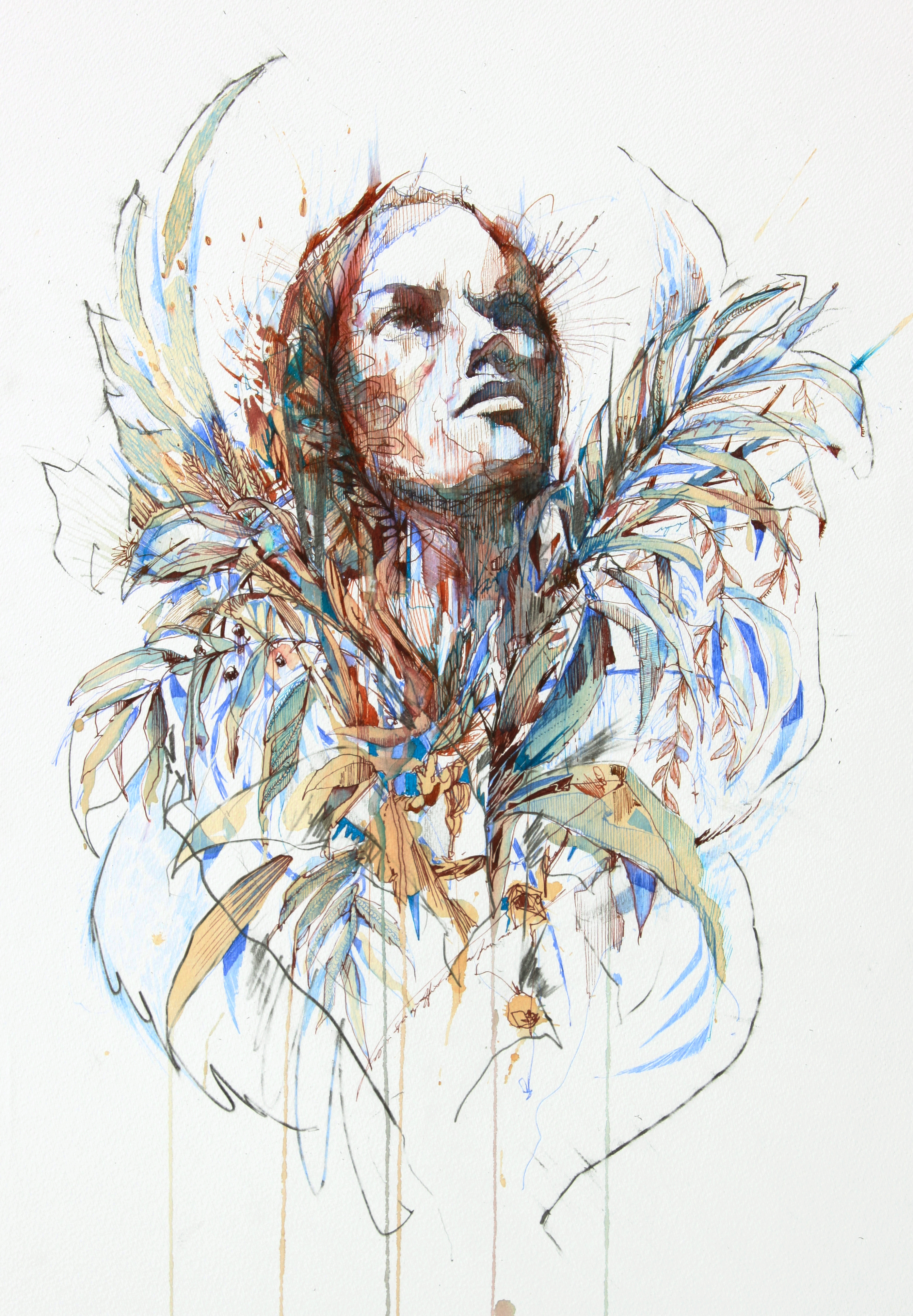 Artwork by Carne Griffiths. Image courtesy the Artist.