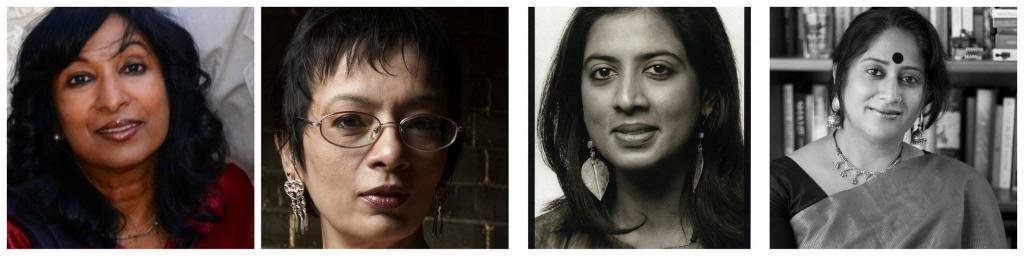 Meena Alexander, Priya Sarukkai Chabria, Arundhathi Subramaniam, and interviewer Shikha Malaviya