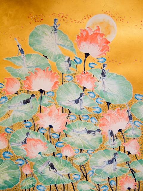 Lotuses, by Kalyani Ganapathy