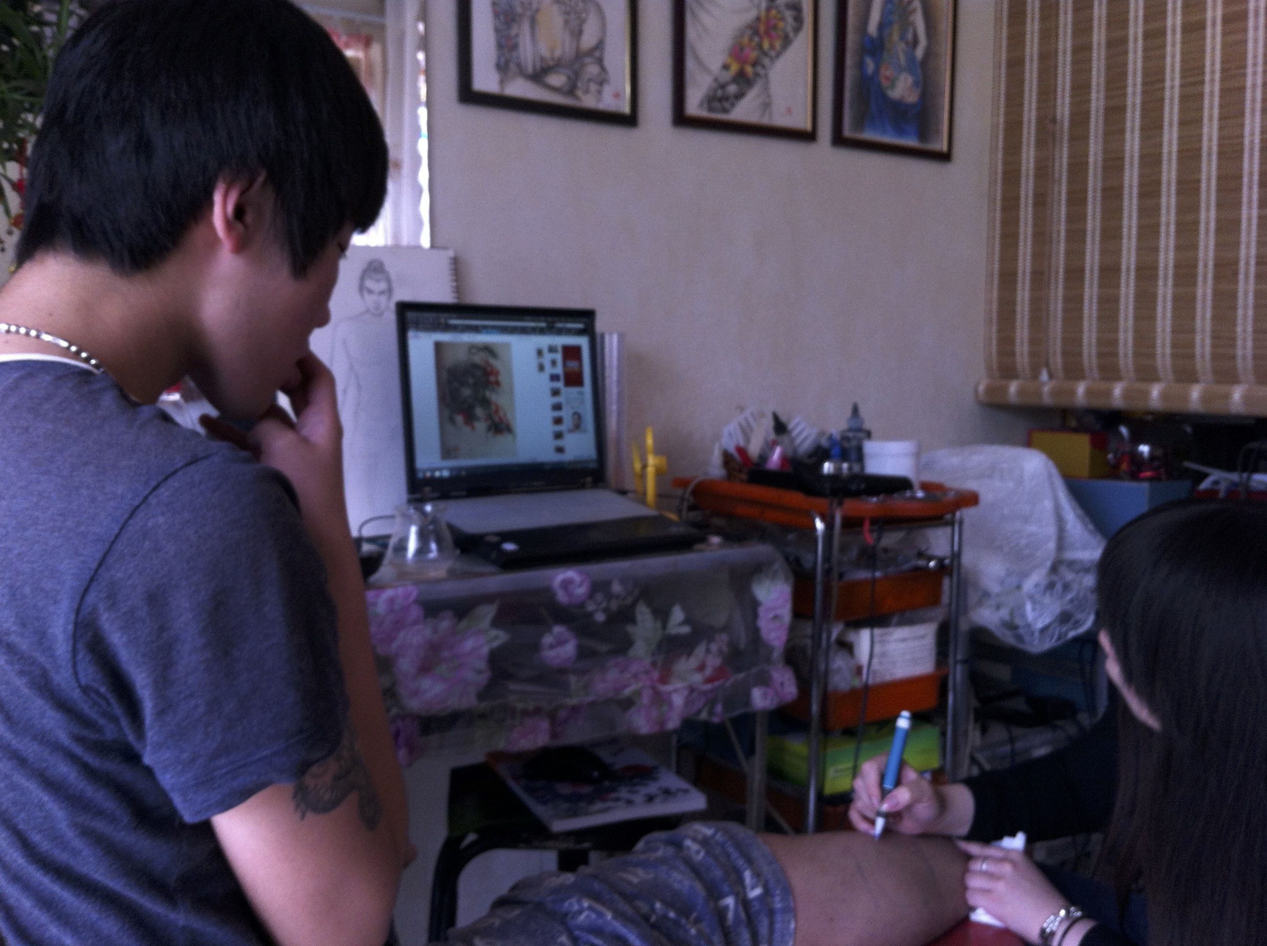 1Client and Mengmeng