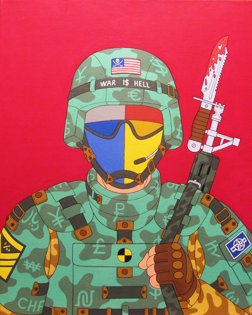 Dog of War by Aleksandar Todorovic. Image Courtesy the Artist.