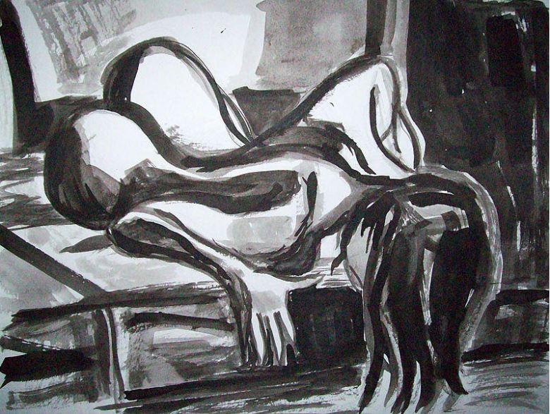 Femme Noir 4, by Allen Forrest. Image courtesy of the artist
