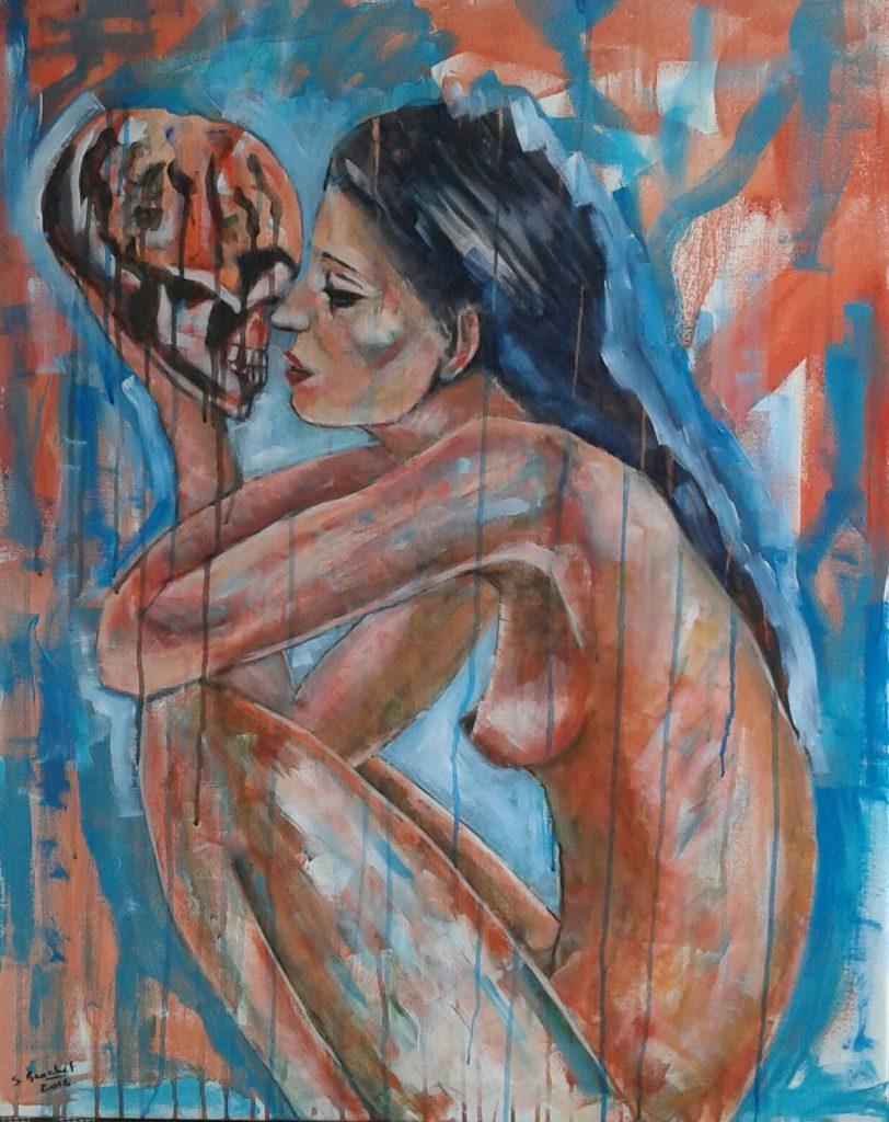 Le double, by Stéphanie Brachet. Image courtesy of the artist